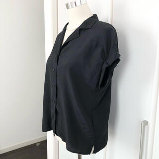 オペークドットクリップ(OPAQUE.CLIP)のボタンダウンシャツ(シャツ/ブラウス(半袖/袖なし))