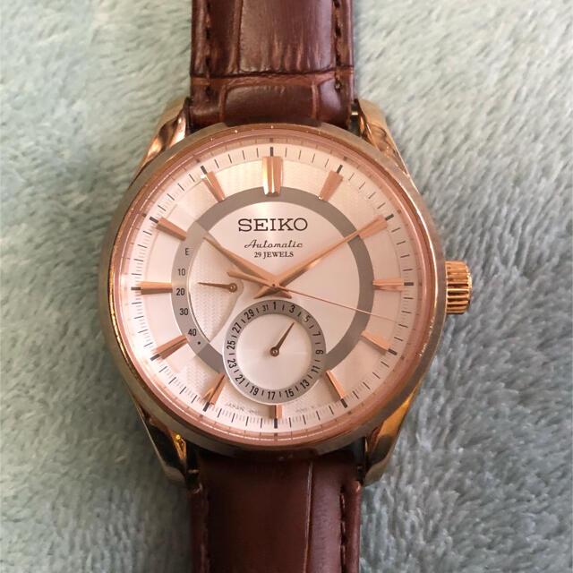 SEIKO(セイコー)のkhiさん専用SEIKO PRESAGE プレサージュ 29jewels メンズの時計(腕時計(アナログ))の商品写真
