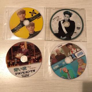 SHINee - SHINee ジョンヒョン DVD  4枚