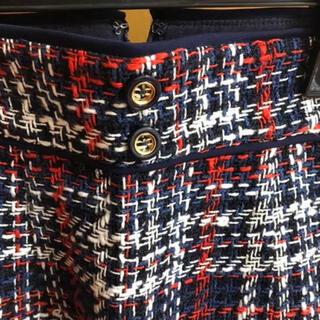 JUSGLITTY - 【新品】定価から半値以下!JUSGLITTY♡チェックツイード/タイトスカート