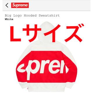 Supreme - Big Logo Hooded Sweatshirt Supreme L