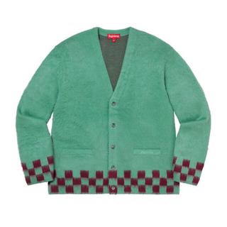 Supreme - Supreme Brushed Checkerboard Cardigan