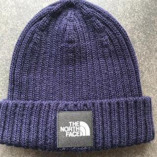THE NORTH FACE - ノースフェイス  キッズニット帽 紺 ネイビー