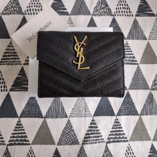Yves Saint Laurent Beaute - ❀人気品美品/国内発送/送料無料❀ YSL 折り財布 小銭入れ