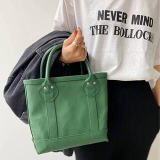 L'Appartement DEUXIEME CLASSE - 新品未使用 Hello Bonjour Mini Tote Bag グリーン