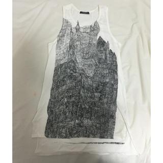 ヌードマサヒコマルヤマ(nude:masahiko maruyama)のヌードPR-yのタンクトップ(Tシャツ(半袖/袖なし))