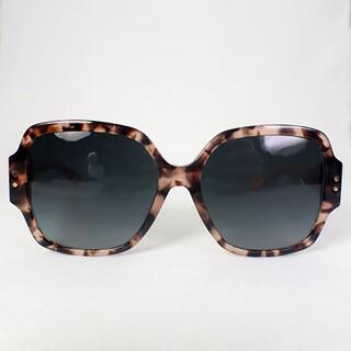 Christian Dior - ディオール/DIOR ベッコウ×ピンク サングラス[g414-3]