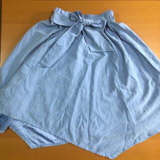 女の子スカート(ひざ丈スカート)
