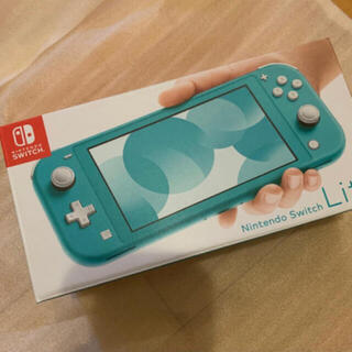 Nintendo Switch - 新品未開封★Switch 任天堂スイッチライト本体 ターコイズ ニンテンドウ