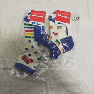 mikihouse - ミキハウス 靴下 13〜15センチ