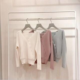 31 Sons de mode - ウェーブサイドのクロスvネックのセーター