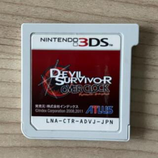ニンテンドー3DS - 3DS デビルサバイバー オーバークロック