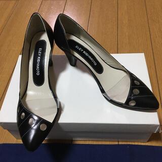 イーリーキシモト(ELEY KISHIMOTO)のイーリーキシモト黒パンプス35美品(ハイヒール/パンプス)