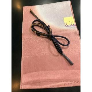 正絹帯締め帯揚げセット 新品未使用