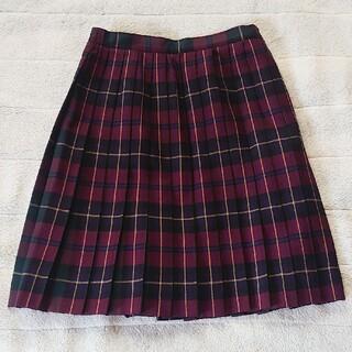 ジェイプレス(J.PRESS)のJPRESS ジェイプレス タータンチェック プリーツスカート 150(スカート)
