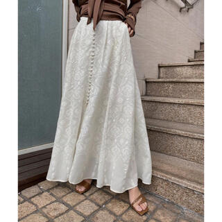 Ameri VINTAGE - アメリヴィンテージ MEDI LAMP EMBROIDERY SKIRT