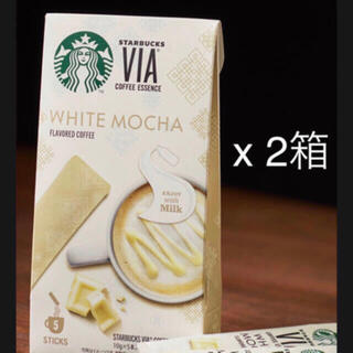 Starbucks Coffee - [安定の大人気] ホワイトモカ x 2箱  Via  スターバックス