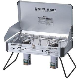 ユニフレーム(UNIFLAME)の【新品未使用】ユニフレーム ツインバーナー US-1900(ストーブ/コンロ)
