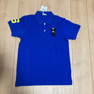 mikihouse - ミキハウス 青色ポロシャツ(150cm)