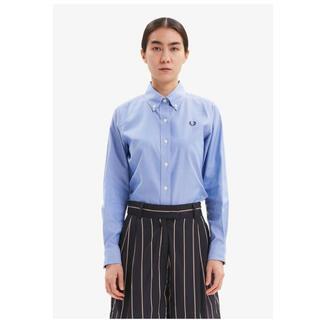 定価15400円 FRED PERRY フレッドペリー シャツ ブルー(Tシャツ/カットソー(半袖/袖なし))