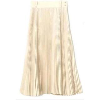 HYKE - 送料込 HYKE プリーツスカート クリーム サイズ2 試着のみ