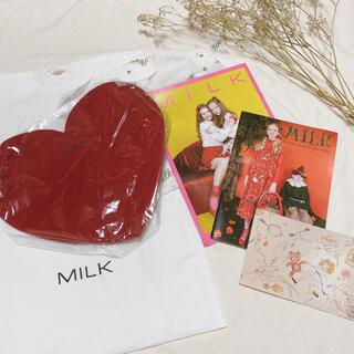 ミルク(MILK)のMILK ミルク《ノベルティ&ファッションカタログセット》マルチケース カード(ポーチ)