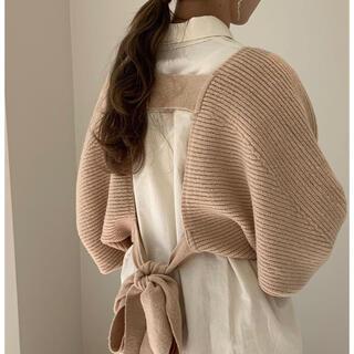 Kastane - amiur back ribbon short tops