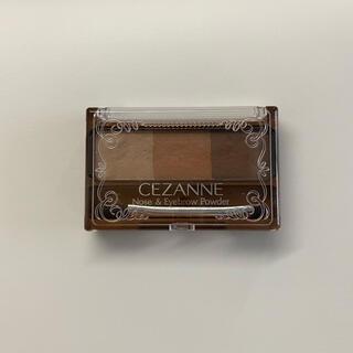 セザンヌケショウヒン(CEZANNE(セザンヌ化粧品))のセザンヌ ノーズ&アイブロウパウダー 02 ナチュラル(パウダーアイブロウ)