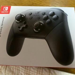 ニンテンドースイッチ(Nintendo Switch)のNintendo NINTENDO SWITCH PROコントローラー 美品(家庭用ゲーム機本体)