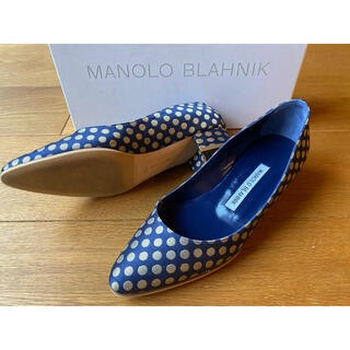 MANOLO BLAHNIK - リストニー ドゥロワー別注 35.5
