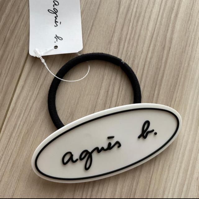 agnes b.(アニエスベー)の新品、未使用♡アニエスベーのヘアゴム レディースのヘアアクセサリー(ヘアゴム/シュシュ)の商品写真