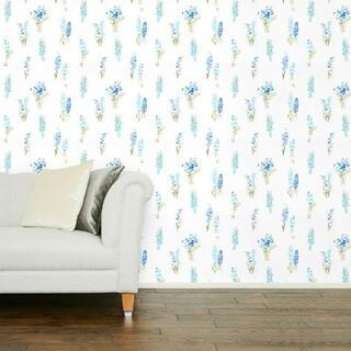 ローラアシュレイ(LAURA ASHLEY)のローラアシュレイ 壁紙 Wildflower Sprig Bluebell(その他)