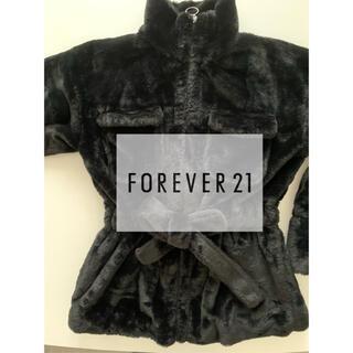 フォーエバートゥエンティーワン(FOREVER 21)の【美品】Forever21 ファージャケット (毛皮/ファーコート)