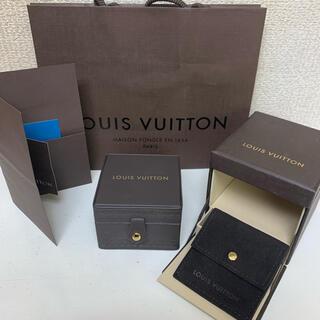LOUIS VUITTON - ルイヴィトン ジュエリーケース 空箱 紙袋付き