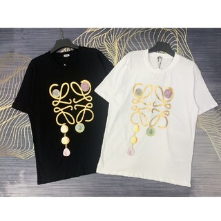 LOEWE - ❤大人気❤ロエベ LOEWE 男女兼用 Tシャツ 半袖 春夏