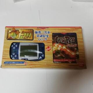 バンダイ(BANDAI)のにっこ様専用ページレトロゲーム機ワンダースワン本体とグンペイの同梱版、新古品美品(家庭用ゲーム機本体)