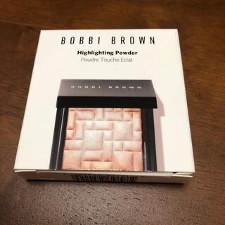 ボビイブラウン(BOBBI BROWN)の◆新品◆ ボビイブラウン ハイライティングパウダー #ピンクグロウ ハーフサイズ(フェイスカラー)