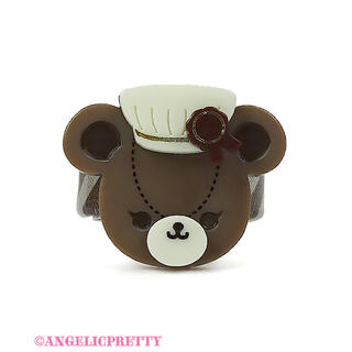Angelic Pretty - Bear's Chocolaterie ショコラティエリング