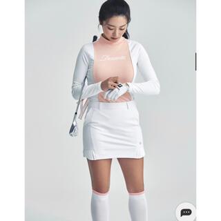 DESCENTE - DESCENTEレディース 韓国スカート  新品、正規、タグ付き