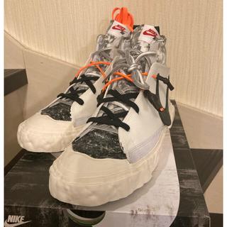 レディメイド(LADY MADE)のREADYMADE × Nike Blazer Mid White(スニーカー)