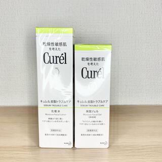 Curel - 【セット】花王 curel キュレル皮脂トラブルケア化粧水+保湿ジェル