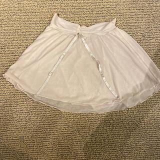 チャコット(CHACOTT)のチャコット スカート 140 薄いくすみピンク 中古(ダンス/バレエ)