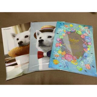 新品未開封クリアファイル3枚セット SoftBankお父さん犬、海のイラスト(クリアファイル)