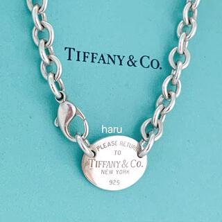 Tiffany & Co. - TIFFANY&Co. ティファニーチョーカー リターントゥ オーバルタグ