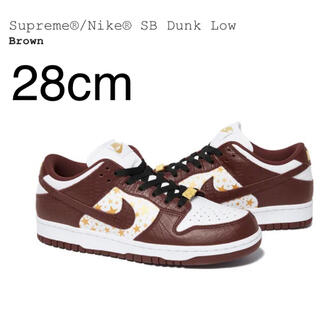 Supreme - Brown 28cm us10 supreme Nike SB Dunk Low