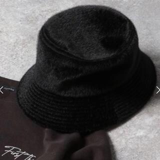 JEANASIS - JEANASIS ジーナシス フェイクミンクバケハ 帽子