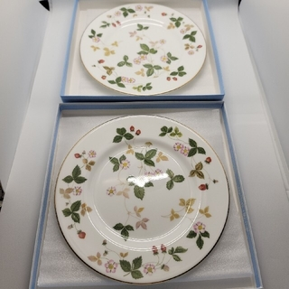 WEDGWOOD - WEDGEWOODウエッジウッド 18cm皿プレート2枚セット