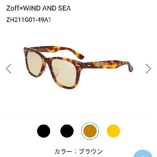 シー(SEA)のWIND AND SEA × Zoff ウエリントン サングラス べっこう色(サングラス/メガネ)