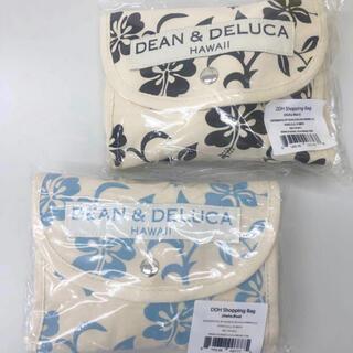 ディーンアンドデルーカ(DEAN & DELUCA)のハワイ限定 ハイビスカス柄 DEAN&DELUCA エコバッグ 2こセット(エコバッグ)