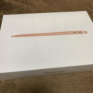Apple - 新品 M1 MacBook Air 8コア 256GB JIS ゴールド